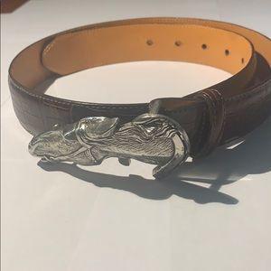 Brand New Horse Head Buckle Belt